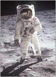 Astronauta sulla Luna, NASA